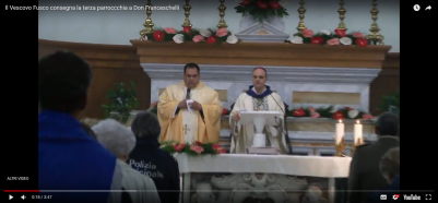 Entrata del nuovo parroco in San Giovanni