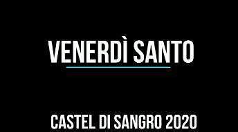 Processione Venerdì Santo 2020